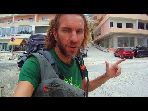 CRAZY ALBANIAN HITCHHIKING ADVENTURE