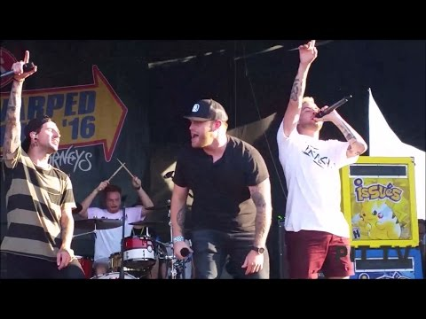 Issues- Never Lose Your Flame and Yung And Dum ft. Jon Langston (live Vans Warped Tour 2016)