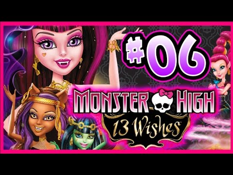 monster high 13 wishes games part 3
