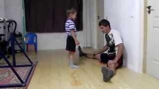 Giuliano and Claudio Stroe: Age 7 and 5