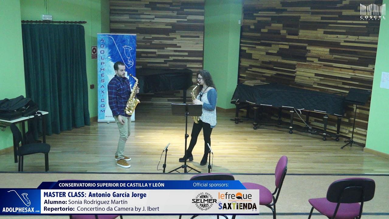 MASTER CLASS - Antonio Garcia Jorge - Sonia Rodriguez Martín (COSCYL)