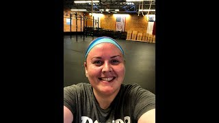 First Crossfit Workout in a Year!