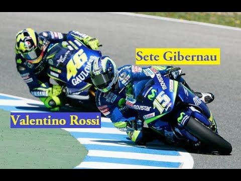Valentino Rossi vs Sete Gibernau MotoGP Brno 2005