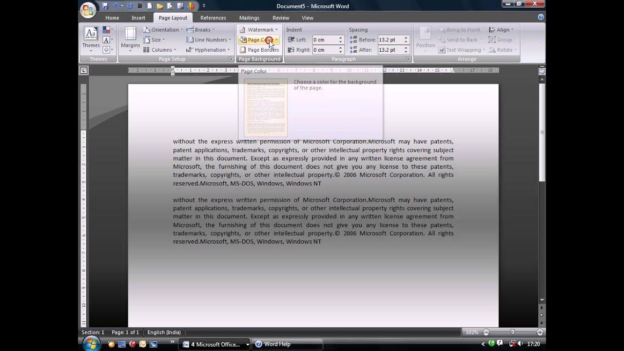 Microsoft Word Malayalam Tutorial