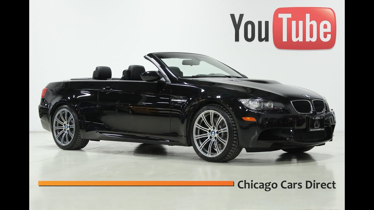 Chicago Cars Direct Presents A BMW M Convertible Jet Black - Sports cars direct