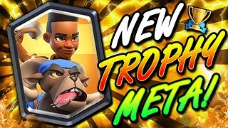 Clash Royale - New Ram Rider Triple Spell Control Deck for Trophy P...