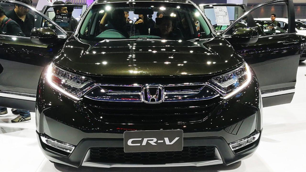 Honda Cr V 2017 ร น 1 6 Dt El 4wd Youtube