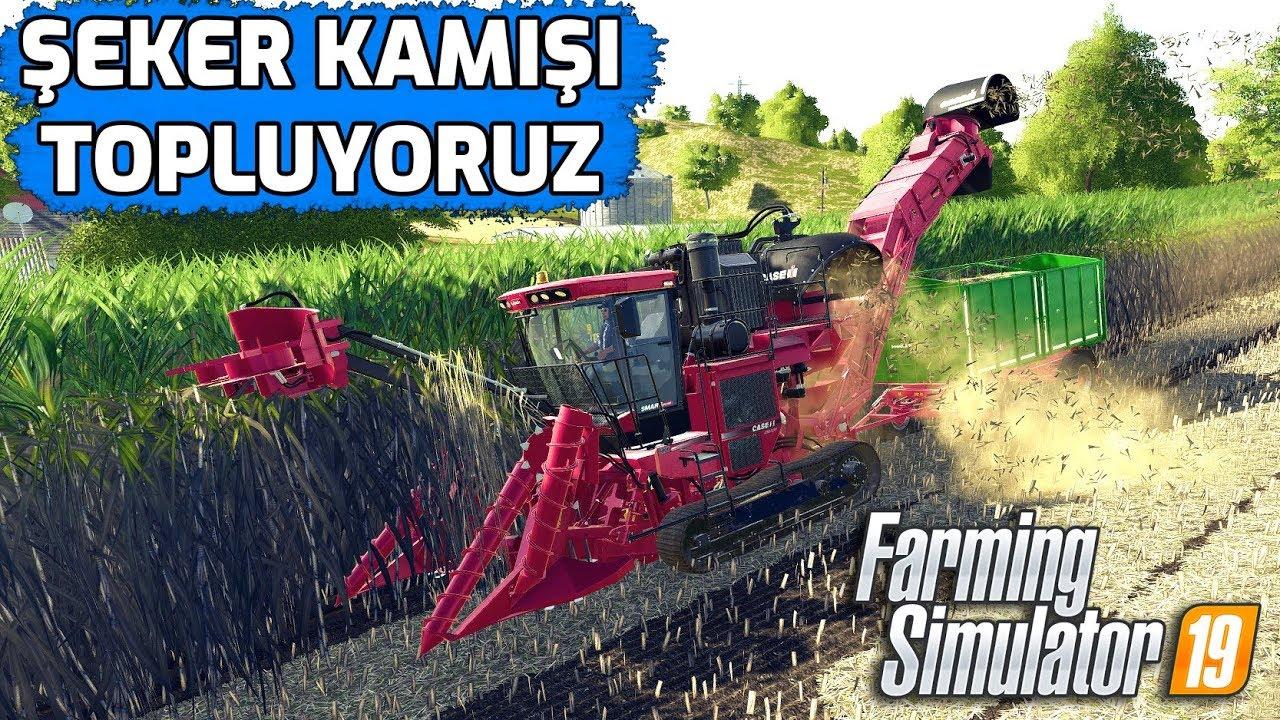 FARMING SIMULATOR 19 // BALYALARI TOPLUYORUZ !! #7