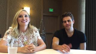 Vampire Diaries - Candice King and Paul Wesley Interview