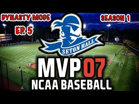 WE GOT THE NUMBER 1 PROSPECT!! | ROAD TO THE COLLEGE WORLD SERIES | MVP NCAA 07 REBUILD EP5