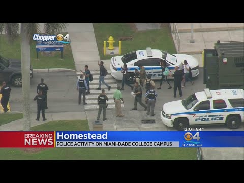 Police Evacuate Miami Dade College's Homestead Campus