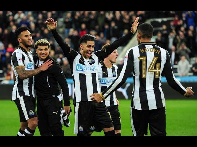Short Highlights   Newcastle United v Preston North End