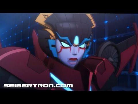 Windblade versus Menasor clip from Machinima's Combiner Wars cartoon