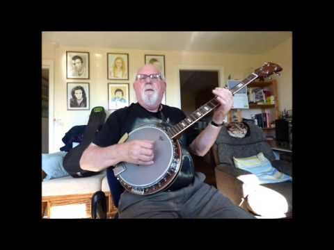 5-string Banjo: Paul and Silas (Including lyrics and chords)