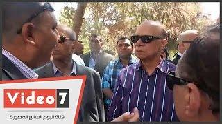 بالفيديو..محافظ القاهرة: نخاطب السفارات لتطوير أجنحتها بالحديقة الدولية