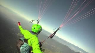 Dù lượn từ đỉnh núi Phú Sĩ! !! Dù lượn từ núi Phú Sĩ !!