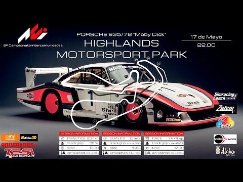 9º - Campeonato Assetto-Corsa Intercom. - Highlands Motorsport Park - Porsche Challenge [8/10]
