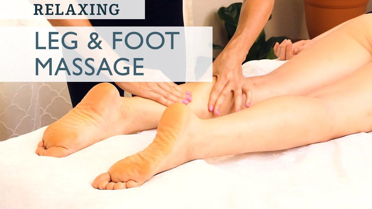 Ultra Relaxing Foot & Leg Massage | with Tessa & Corrina Rachel