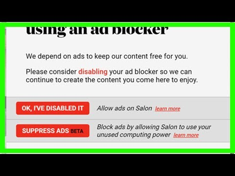 Salon offers crypto-mining option instead of ads | WARC by BuzzStyle