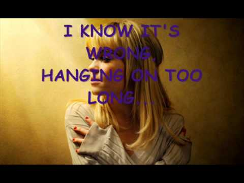 HANGING ON TOO LONG duffy instrumental + lyrics on screen