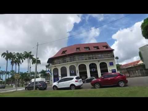 Walking Around Cayenne, French Guiana Aug 2016 - DJI OSMO 1/