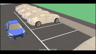 Automated parking simulation 1 (Bay Parking)