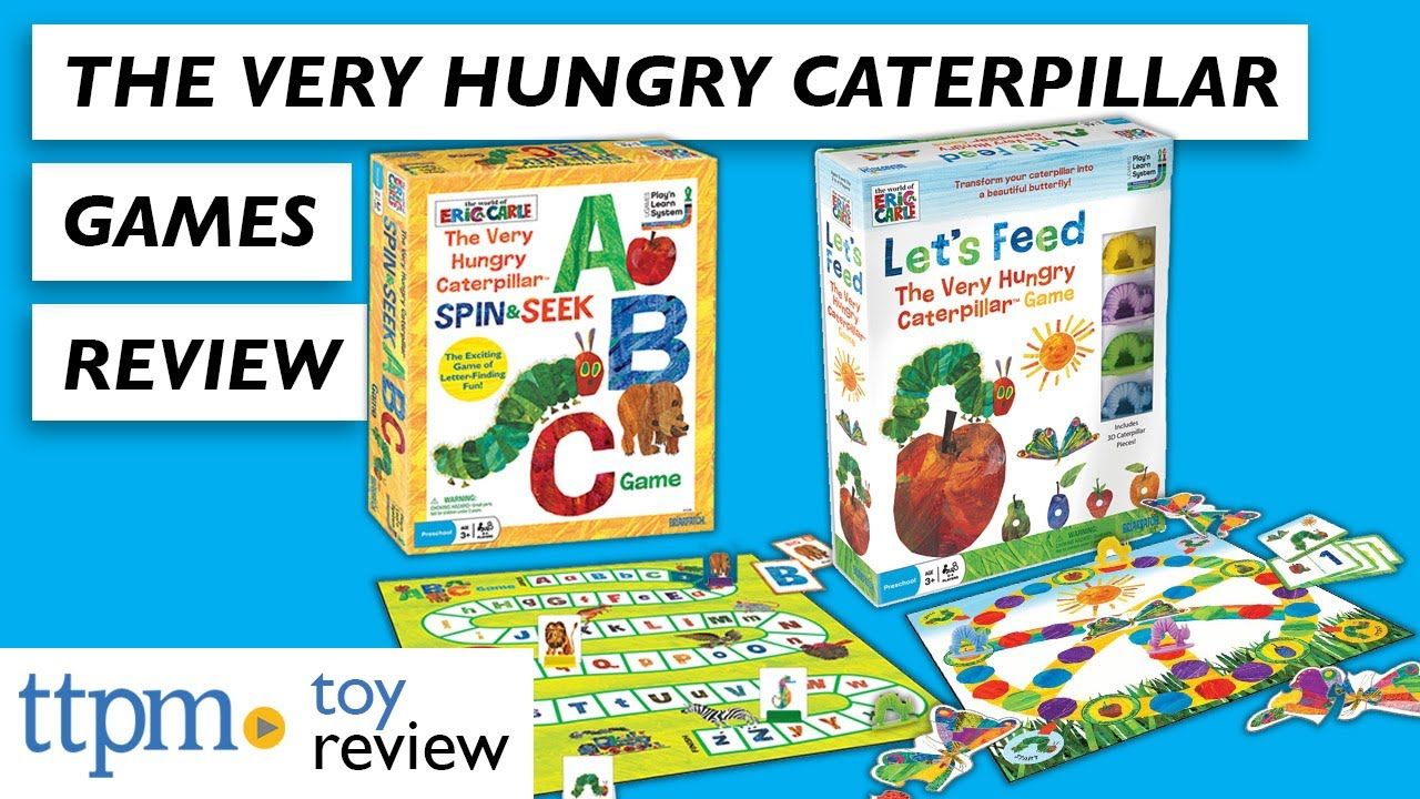 The Very Hungry Caterpillar Spin /& Seek ABC Game Kids Preschool Toy Letter Alpha