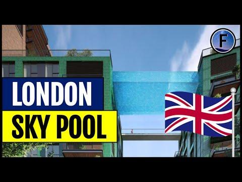 London's 'Floating' Sky Pool