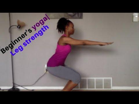 beginner's yoga leg strength week 3  youtube