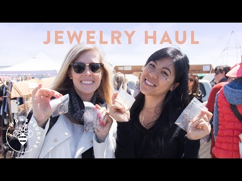 Jewelry Haul from the Antique Fair - VLOG 39