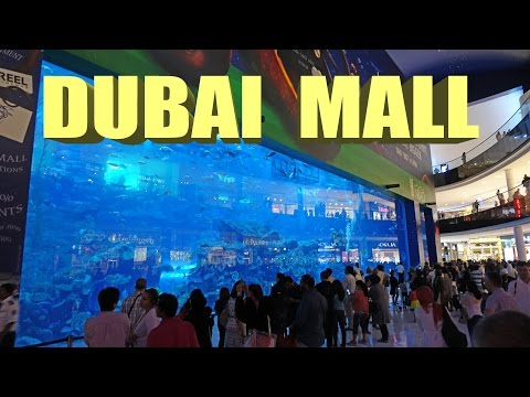 Dubai Mall – Biggest Mall In The World  4K