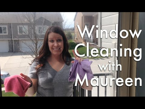 Cleaning Windows And Mirrors With Norwex!