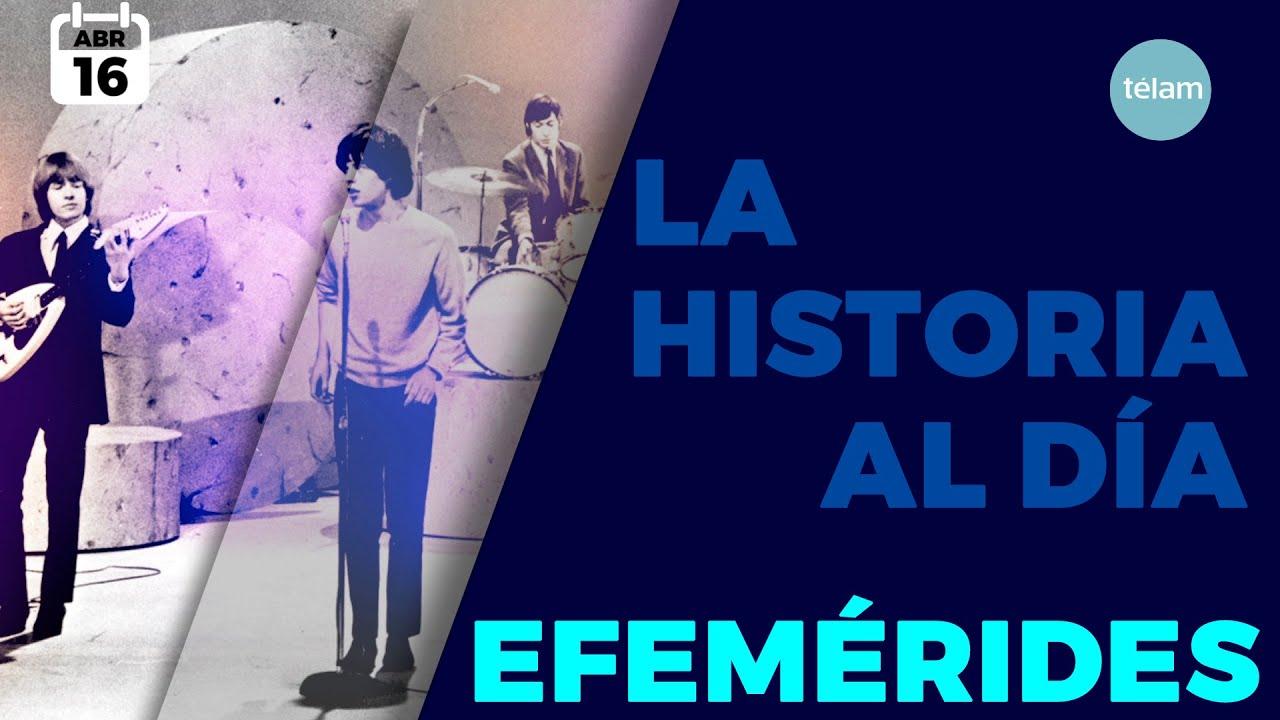HISTORIA DEL DIA (EFEMÉRIDES 16 DE ABRIL)