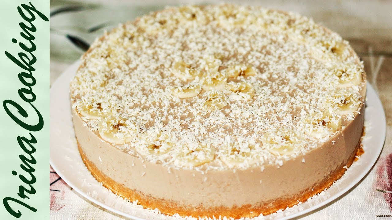 Банановое суфле для торта рецепт пошагово