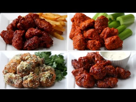 Download Youtube: Chicken Poppers 4 Ways