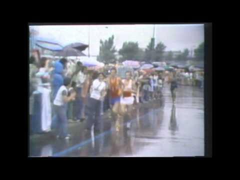 Montreal 1976 Olympic Marathon (highlights)