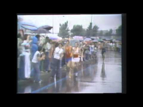 Montreal 1976 Olympic Marathon (highlights)