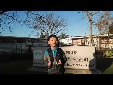Kai at El Rincon Elementary School