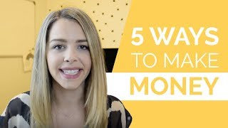 5 Ways You Can Actually Make Money in Your Online Business