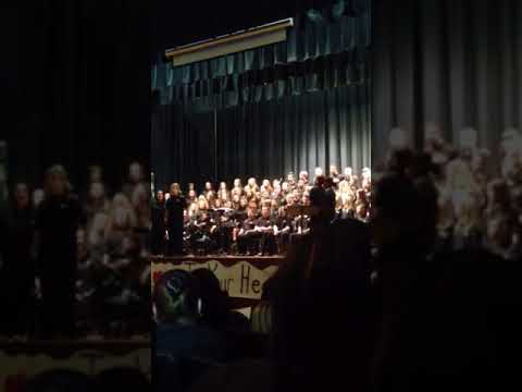 James Wood middle school choir concert 2014