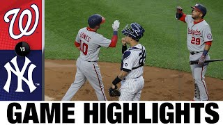 Nationals vs. Yankees Game Highlights (5/7/21)   MLB Highlights