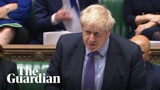 MPs debate Boris Johnson's Brexit bill – watch live