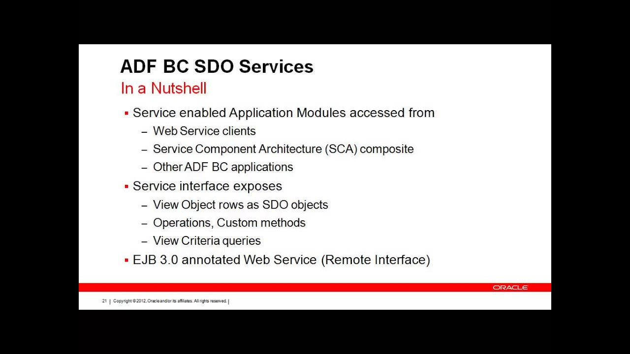 Best Practices for Integrating SOAP and REST services into Oracle ADF