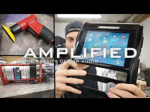 iPad mini Car Mount Custom Install Tips  - Amplified #121