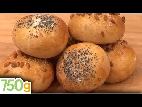recette-de-pains-burger-ou-bun's---750g