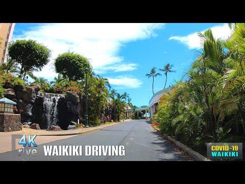 Hawaii Driving [Update: July 3, 2020] Waikiki Driving | COVID-19 | Honolulu, Oahu, Hawaii, USA