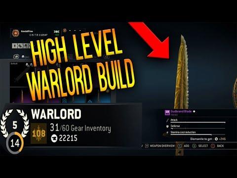 Level 108 High Level Warlord Gear - Full...