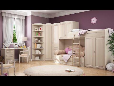 Детская модульная мебель для девочек_