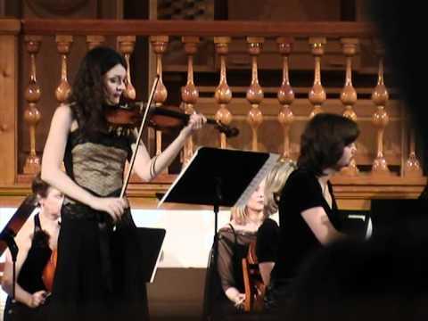 Mendelssohn Double concerto in d minor (1) Julia Igonina