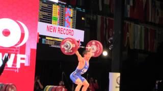 Wu Jingbiao Snatch - 139 kg (World Record)